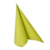 serviettes royacollection pliage 1 4 33 cm x 33 cm vert papstar 10757