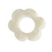 ronds de serviettes o 60 mm creme flower papstar 19076