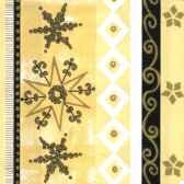 serviettes 3 plis pliage 1 4 33 cm x 33 cm golden starlight papstar 11394