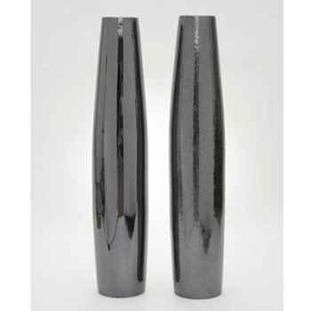 Lampe Vase Cigare Maxi Design FdC - 6059argent