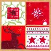 serviettes 3 plis pliage 1 4 33 cm x 33 cm nordic style papstar 11333