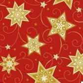 serviettes 3 plis pliage 1 4 33 cm x 33 cm rouge just stars papstar 81258