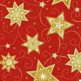 serviettes 3 plis pliage 1 4 33 cm x 33 cm rouge just stars papstar 81261