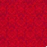 serviettes 3 plis pliage 1 4 33 cm x 33 cm rouge ornament papstar 19814