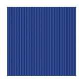 serviettes royacollection pliage 1 4 25 cm x 25 cm bleu fonce delicate line papstar 11568