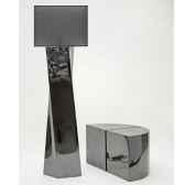 lampe x maxi design fdc 6260argent
