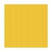 serviettes royacollection pliage 1 4 25 cm x 25 cm jaune delicate line papstar 19831