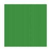 serviettes royacollection pliage 1 4 25 cm x 25 cm vert fonce delicate line papstar 19834