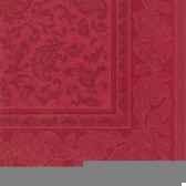 serviettes royacollection pliage 1 4 40 cm x 40 cm bordeaux ornaments papstar 17052