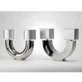 lampe zen carre design fdc 6230argent