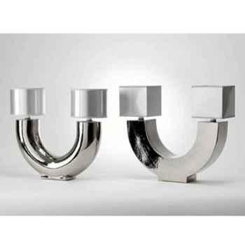 Lampe Zen Rond Design FdC - 6229argent