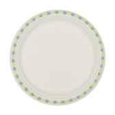assiettes pur bois non separe o 245 cm 22 cm blanc duett papstar 12117