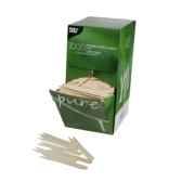 piques frites en bois pure 85 cm papstar 18201