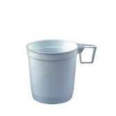 tasses a cafe en ps 025 o 8 cm 85 cm blanc papstar 12216