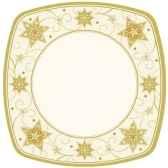 assiettes carton rectangulaire 26 cm x 26 cm just stars papstar 10444