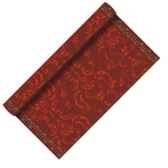 chemin de table aspect textile airlaid 3 m x 40 cm festive en rouleau laque papstar 19859