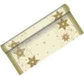 chemin de table aspect textile airlaid 3 m x 40 cm just stars en rouleau la papstar 81161