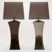 lampe era argent design fdc 6276argent
