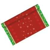 chemin de table aspect textile airlaid 3 m x 40 cm x mas allover en rouleau papstar 81160