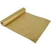 chemin de table non tisse en pp 12 m x 40 cm or en rouleau papstar 10437