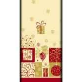 nappe aspect textile airlaid 120 cm x 180 cm christmas symbols laque papstar 81696