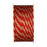 cordon 3 m x 5 mm rouge papstar 80285