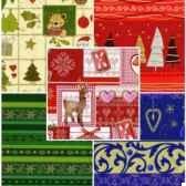 papier cadeaux noe10 m x 70 cm fantasy assorti papstar 14408