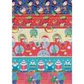 papier cadeaux noe2 m x 70 cm hits for kids assorti papstar 14441