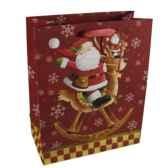 sac en papier glace grand 32 cm x 26 cm x 13 cm noepapstar 16438