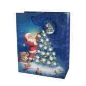sac en papier glace grand 32 cm x 26 cm x 13 cm noepapstar 16439