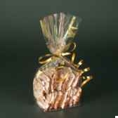sachet de sopp 235 cm x 145 cm x 6 cm transparent sterne gold papstar 12493