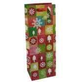 sacs en papier glacesbouteille 36 cm x 13 cm x 10 cm noepapstar 16467