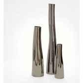 vase tonga design fdc 5121argent