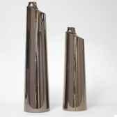 vase tempo design fdc 5226argent