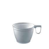 tasses a cafe en ps 018 o 78 cm 6 cm blanc papstar 12215