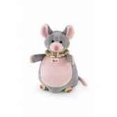 marionette chat roux souris trudi 29982