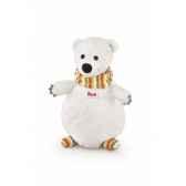 marionette ours polaire pingouin trudi 29985