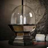 globe bas sur socle miroir objet de curiosite da150