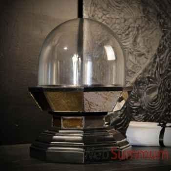 Globe bas sur socle miroir Objet de Curiosité -DA150