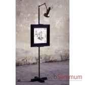 lampadaire chevalet objet de curiosite lu133