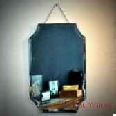miroir bizeaute a angles entrants objet de curiosite mr012