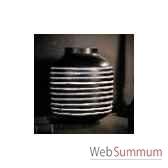 vase chinois noir et blanc objet de curiosite va032