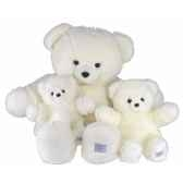 ours collection blanc 60 cm histoire d ours 2189