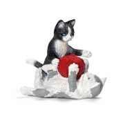 chatons jouant avec une pelote de laine schleich 13724