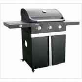 barbecue gaz americain evho 3 noir cookingarden am003sbn
