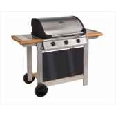 barbecue gaz mixte a capot riviera 3 cookingarden am006twi