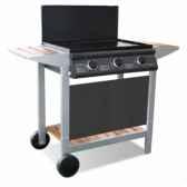 barbecue gaz mixte puerta luna confort cookingarden au001tw