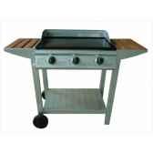 plancha gaz 3 bruleurs silver style fsc 100 cookingarden bg313pttw