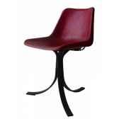 chaise giron 3 avec structure en fer soluna pn9143h
