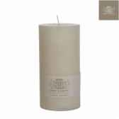 bougie rustic h20d10 creme 120309